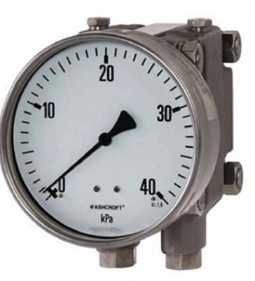 不锈钢差压压力表 F5503