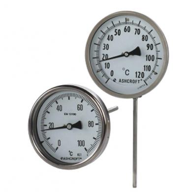 全不锈钢双金属温度计EI,CI,EL系列